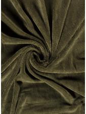 khaki - bamboo towel fabric