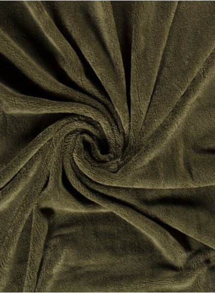 khaki - bamboo towel fabric