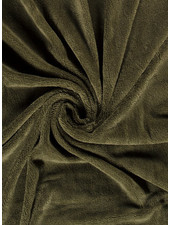 taupe - bamboo towel fabric