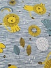 yellow lion and tiger friends - tricot