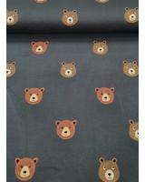 bears - dark grey - french terry