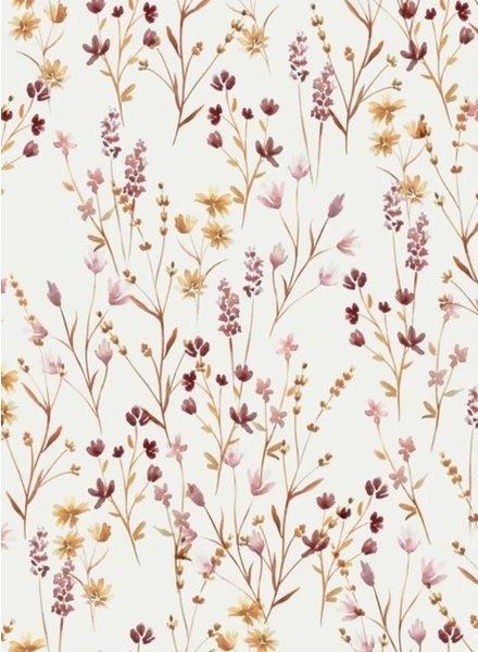 Family Fabrics Meadow  - tricot