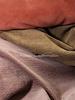 oudroze - corduroy - ribfluweel met brede ribbel