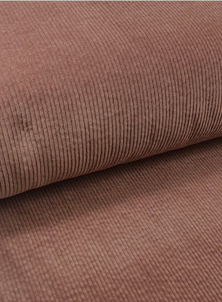 dusty pink - corduroy