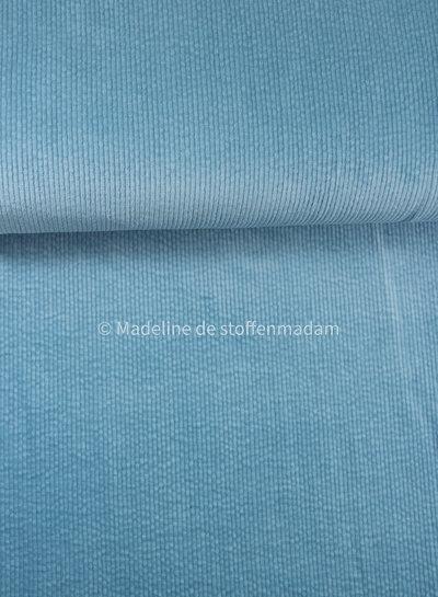 dolphin blue - corduroy