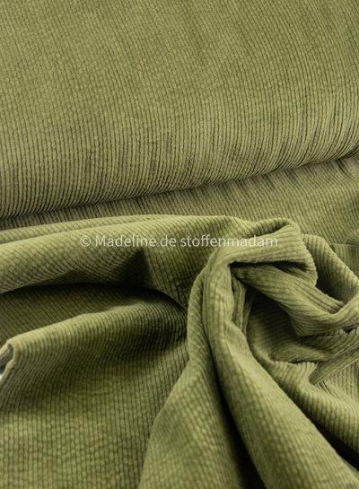 olive green - corduroy