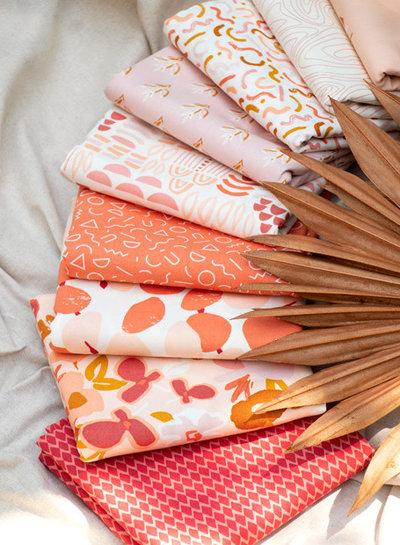 ART GALLERY FABRICS Crafted Shapes Yardage - cotton