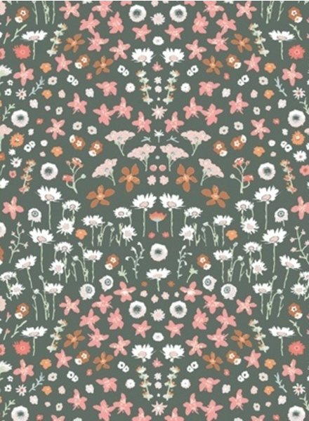 ART GALLERY FABRICS Painted Field Tangerine - katoen