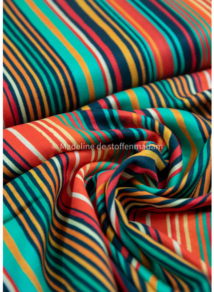 Fibremood gekleurde lijnen - viscose