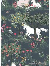 ART GALLERY FABRICS Mystical Quest by Night - cotton