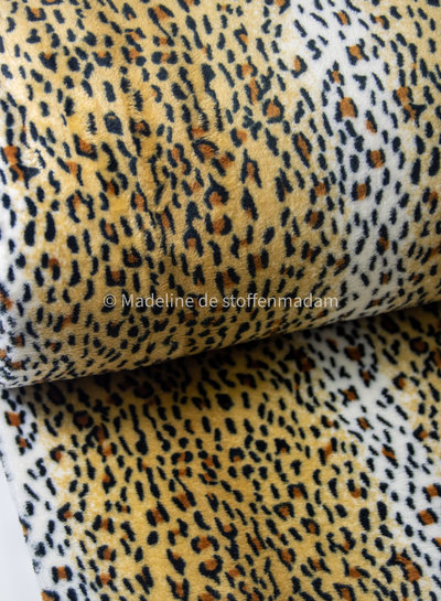 cheetah - wellness fleece