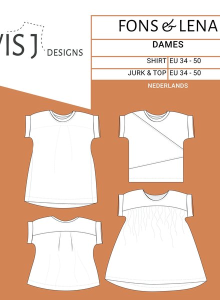 Wisj patterns Fons and Lena for ladies - dutch version