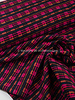soft woven cotton  - neon pink and lila