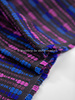 lilia en kobalt -zachte geweven katoen blend
