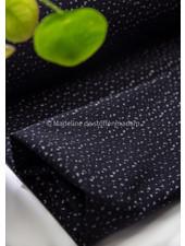 silver dots - woven jacquard