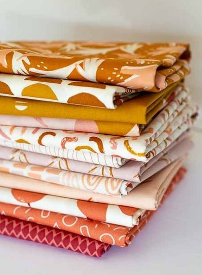 ART GALLERY FABRICS Freckled Leaves - cotton