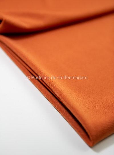 Editex mandarin stretch fabric with crepe structure