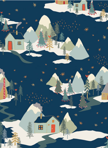 ART GALLERY FABRICS Winter Wonderland - katoen