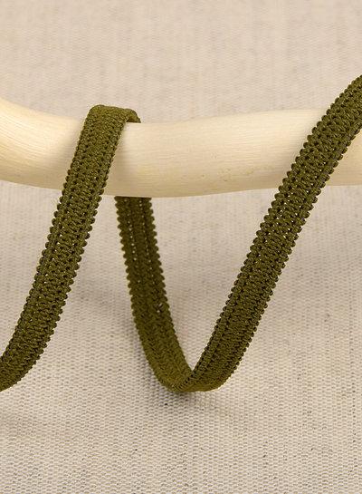 per meter moss green 053 - 5 mm  - elastic