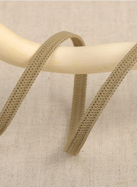 per meter taupe 045 - 5 mm  - elastiek