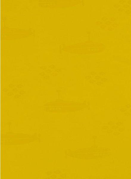 submarine - geel regenjasstof PUL