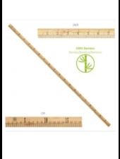 Meetlat bamboo 1 meter
