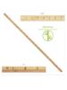 Ruler bamboo 1 meter