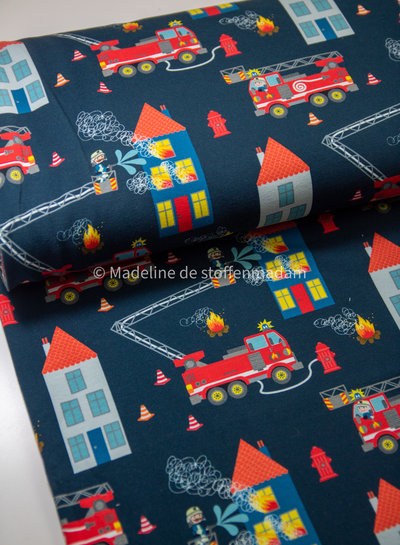 Swafing navy house on fire - sweater