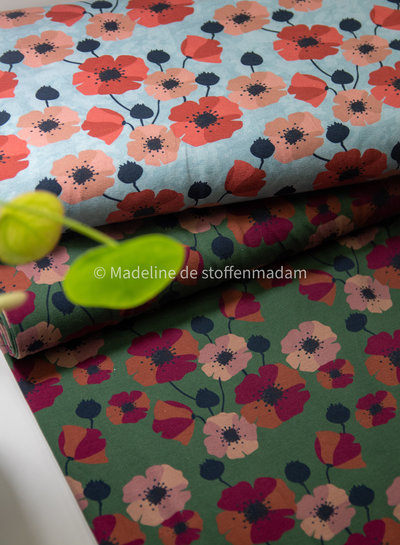 Swafing poppy groen  tricot