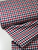 red and navy diamonds - flanel cotton