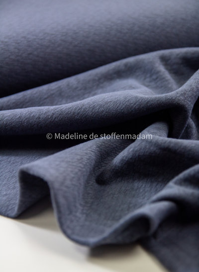 Swafing navy knitted jacquard stretch