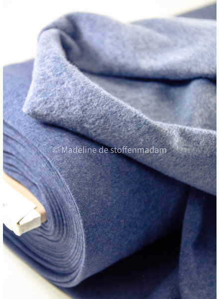 denimblauw - Jogging brushed recycled