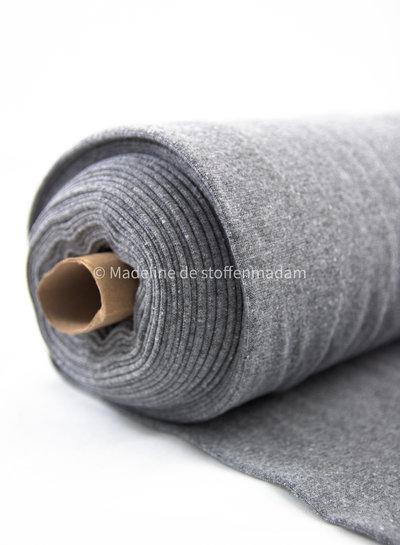 063 grey - recycled ribbing