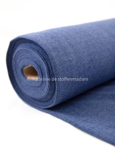 006 blue - recycled ribbing