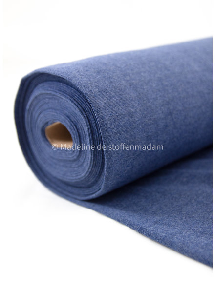 006 denim blue - recycled ribbing