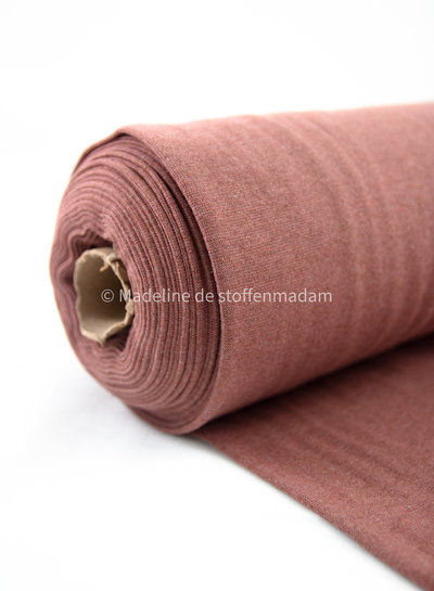 marsala - recycled RIBBING