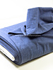 denimblauw -  French Terry Recycled