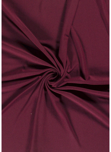 burgundy -  French Terry Recycled