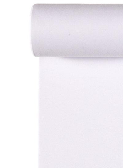 050 white - recycled ribbing