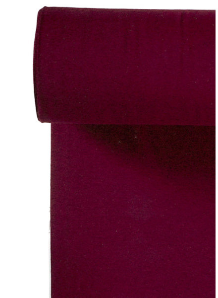 018  burgundy - recycled ribbing