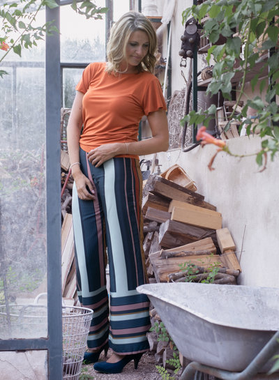 Editex Ava pants stripes- capsule collection Bel'etoile