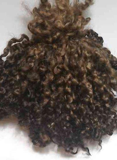 Wensleydale locks - dark brown