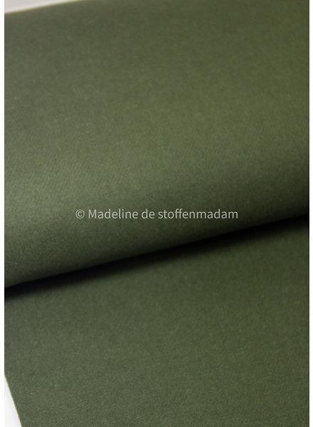 khaki - woolen coat fabric