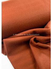 cognac - soft coat fabric