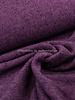 donker lila - boucle wollen mantelstof