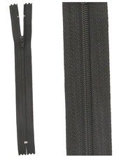 close end zipper-  black color 580