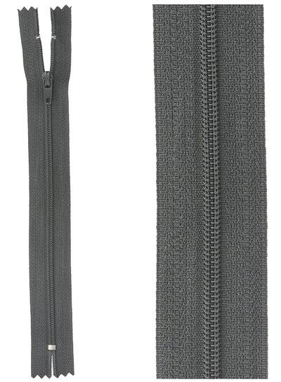 close end zipper-   anthracite color 75
