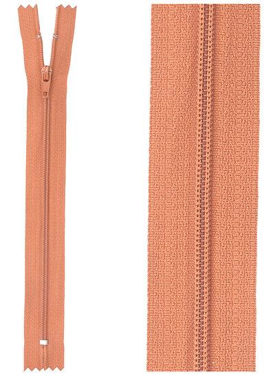 close end zipper- rust color  850