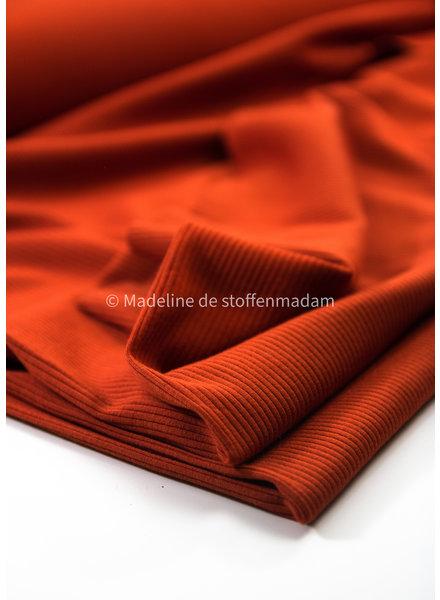 Fibremood roest ribbel -  viscose tricot