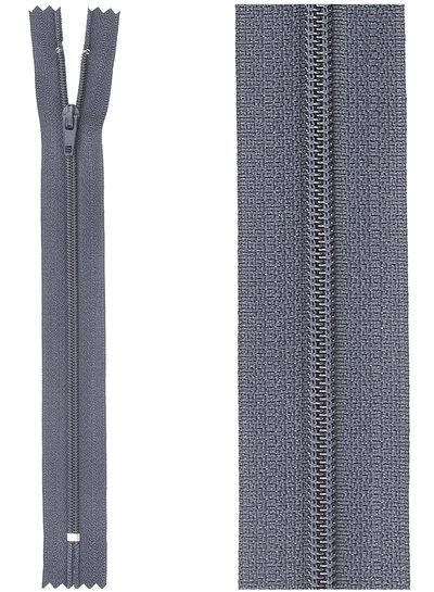 close end zipper - dark navy blue color 560